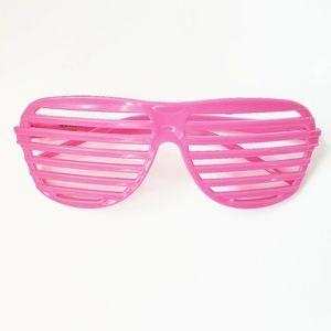 💟 2/$10 + 3/$15 ● Pink Shutter Sunglasses